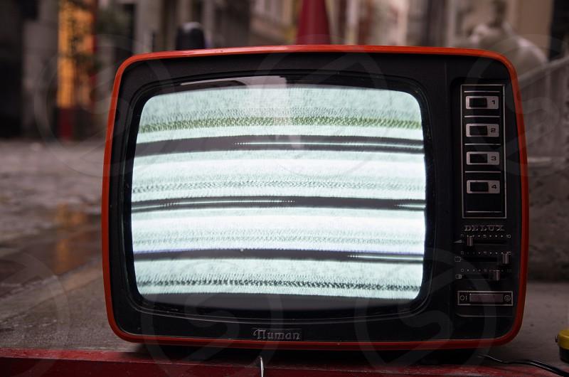 Old tv photo