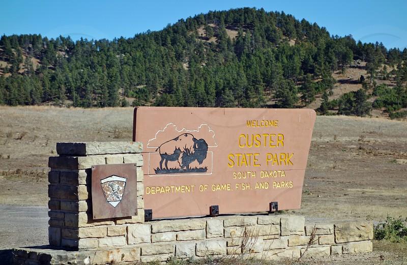 Custer in Custer County South Dakota photo