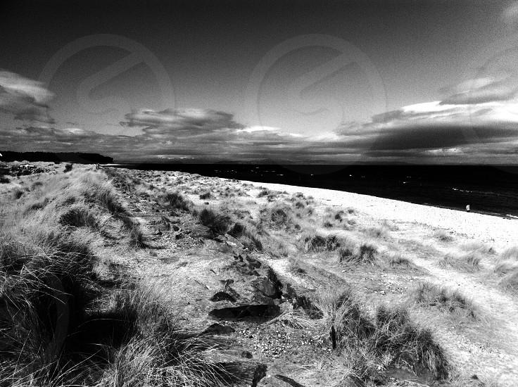Clouds Over Sea North Scotland photo