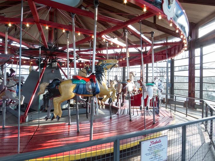 Carousel at Greenport NY photo