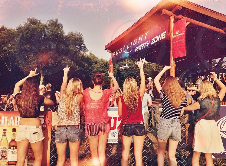 County music festivals  photo
