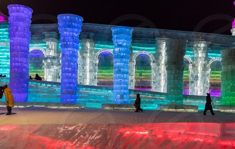 Harbin China ice festival photo