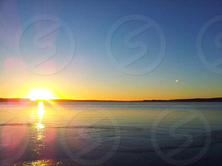 Sunrise in Sweden photo