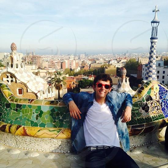 Park Güell in Barcelona Spain   photo
