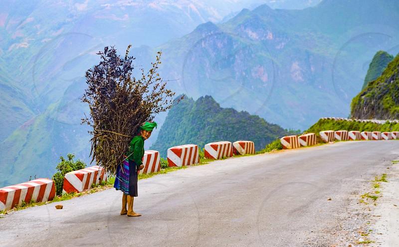 in Ha Giang Vietnam photo