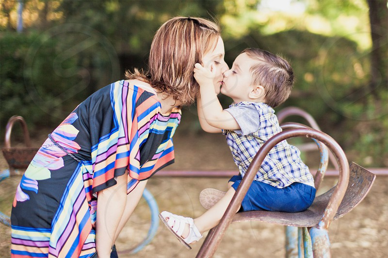 Mother son love mom lovers children baby photo
