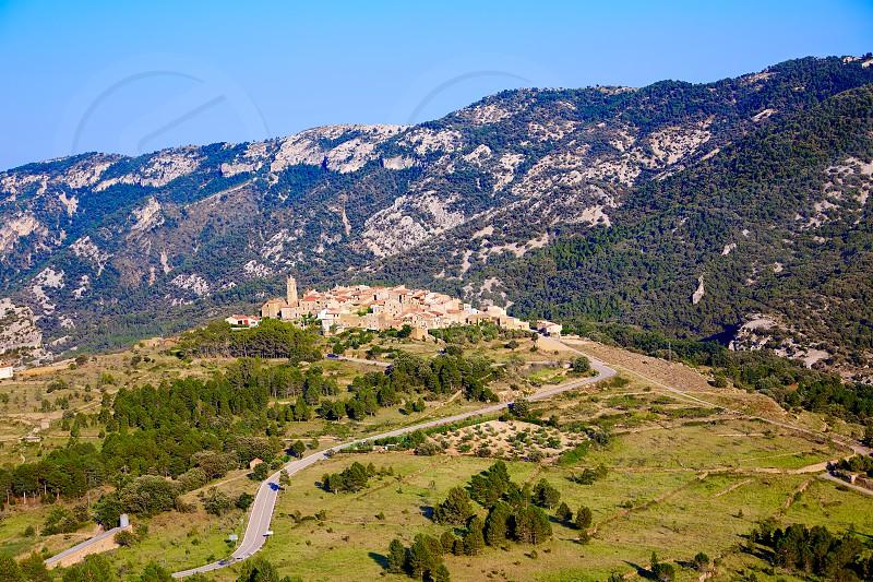 El Ballestar village in Tinenca de Benifassa area of Castellon Spain photo