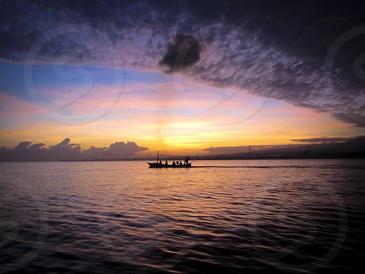 Sunrise in Bali photo