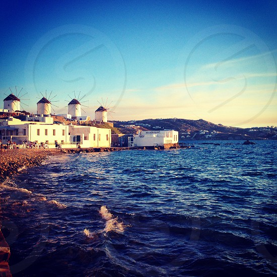 Mykonos Greece  photo