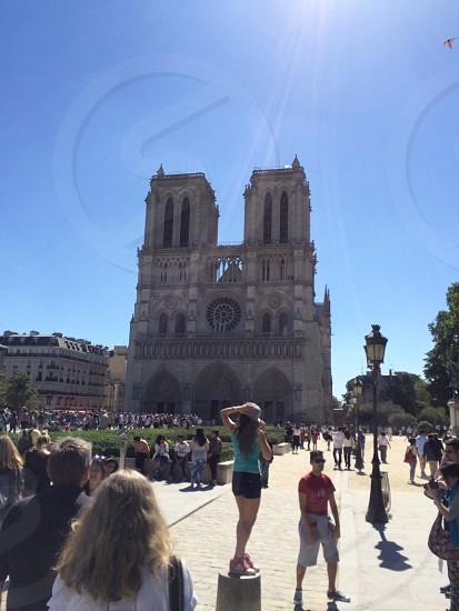 Notre-Dame de Paris landmark photo