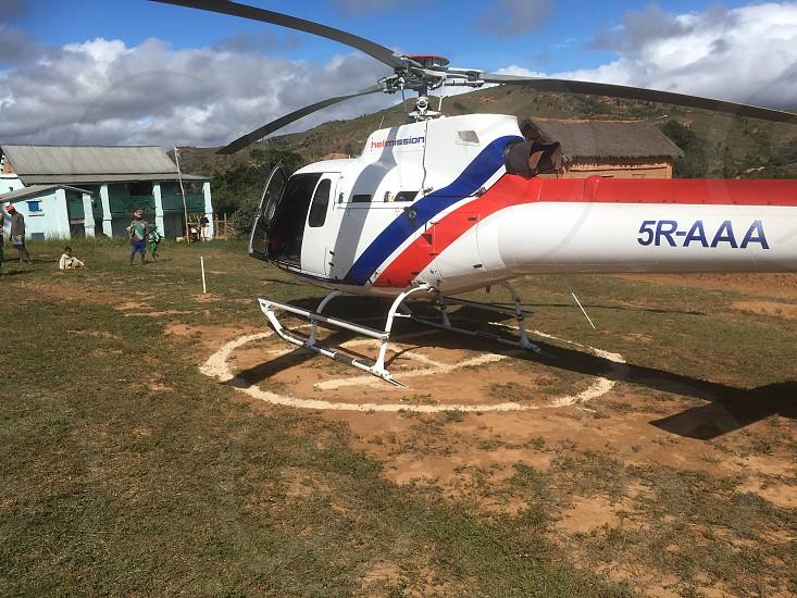 Madagascar helicopters photo