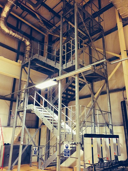 Industrial Stairs photo