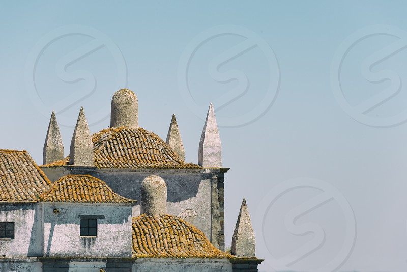 Roofs of Monsaraz (Portugal) photo