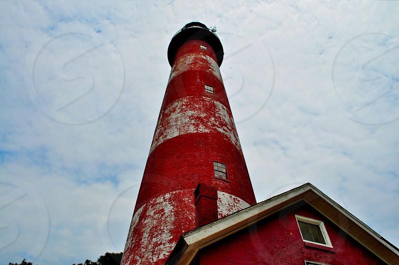 Assateague Lighthouse Chincoteague Island Virginia photo