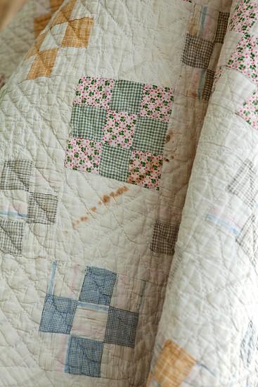Textile_Vintage Quilt photo