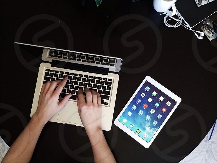 white tablet  photo
