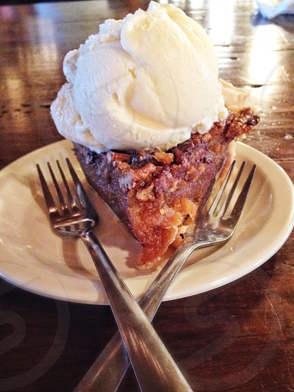 Austin Texas The Salt Lick apple pie photo