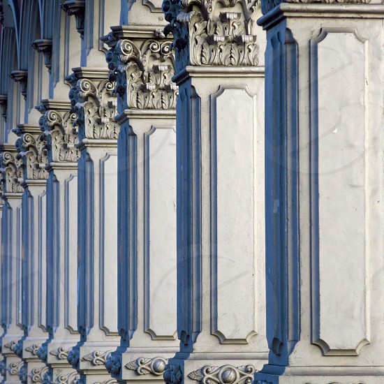 Columns located in downtown Portland Oregon. photo