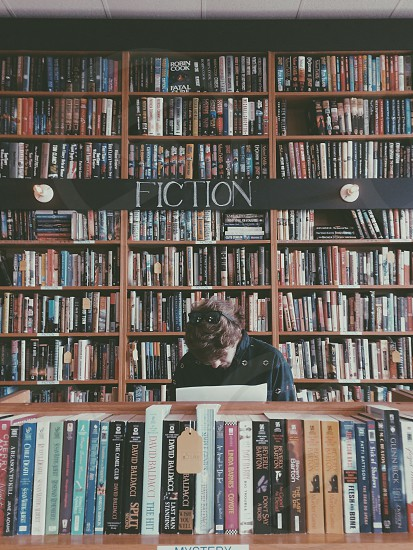 Books reading fiction hipster book store Indy Indianapolis  photo