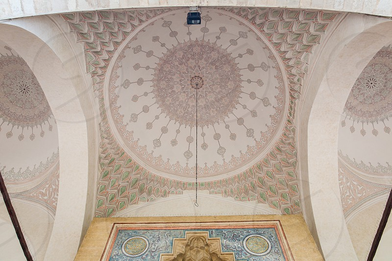 The Gazi Husrev mosque in Sarajevo Bosnia and Herzegovina. photo