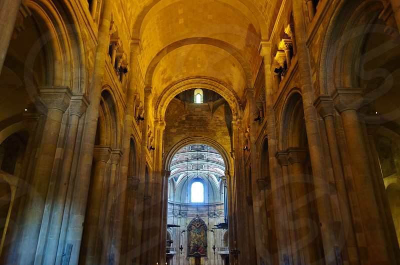 The Lisbon Cathedral in Lisbon Portugal photo