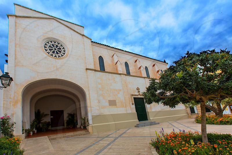 Menorca Ciutadella Monestir de Santa Clara monastery at Balearic islands photo