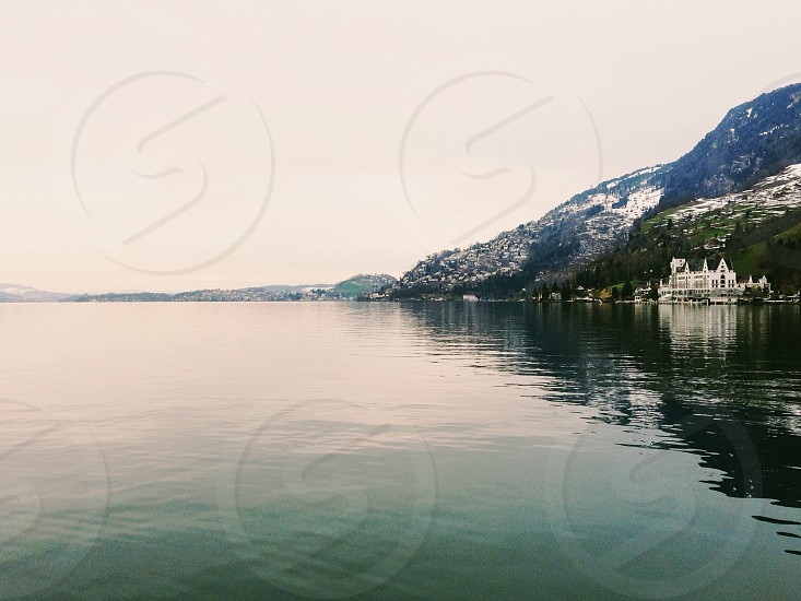 Lake Lucerne Switzerland  photo