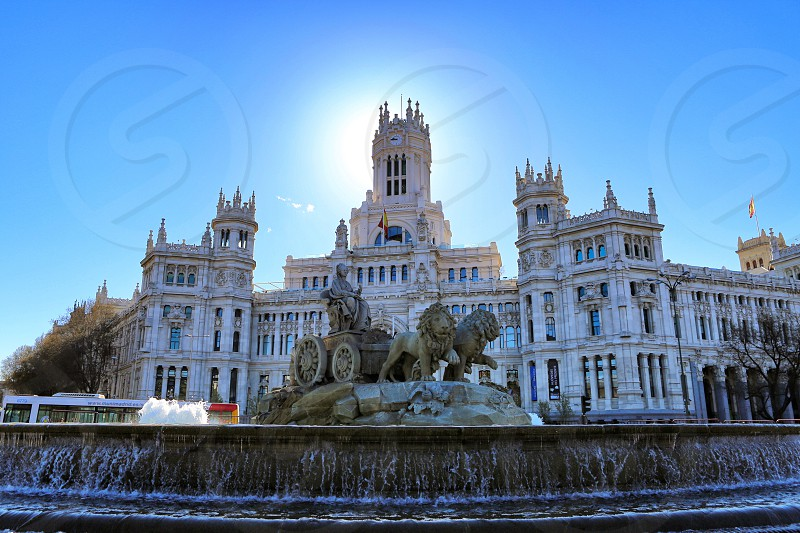 Madrid business city  architecture  photo