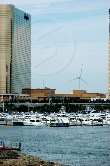 Borgata and marina in Atlantic City photo