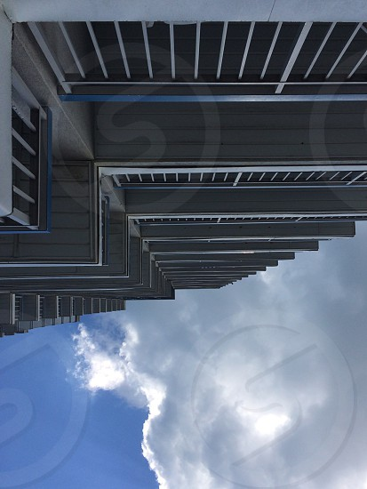 low angle of a high rise building photo