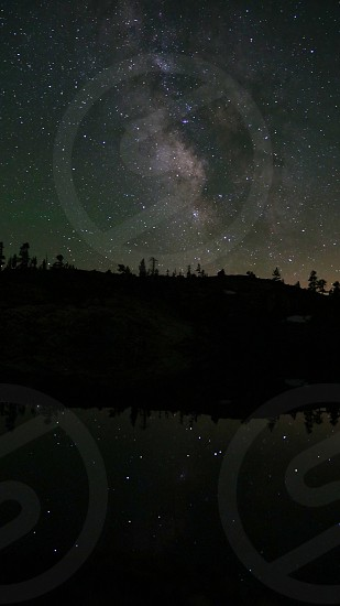 Milky Way shot in Tahoe National Forest May 2014 photo