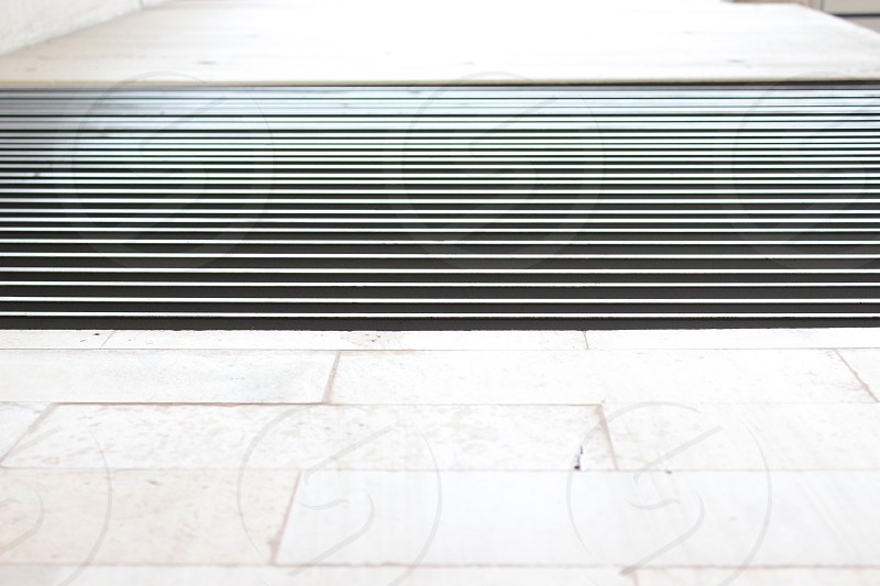 An airconditioning vent outside a well known mall in Lima Perú photo
