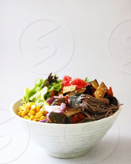 Food Japanese vegetables foodie canon health healthy food photography kitchen cooking home salad bowl white background  photo