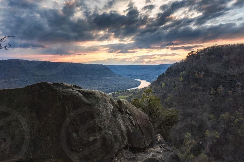 Sunset in Chattanooga TN. photo