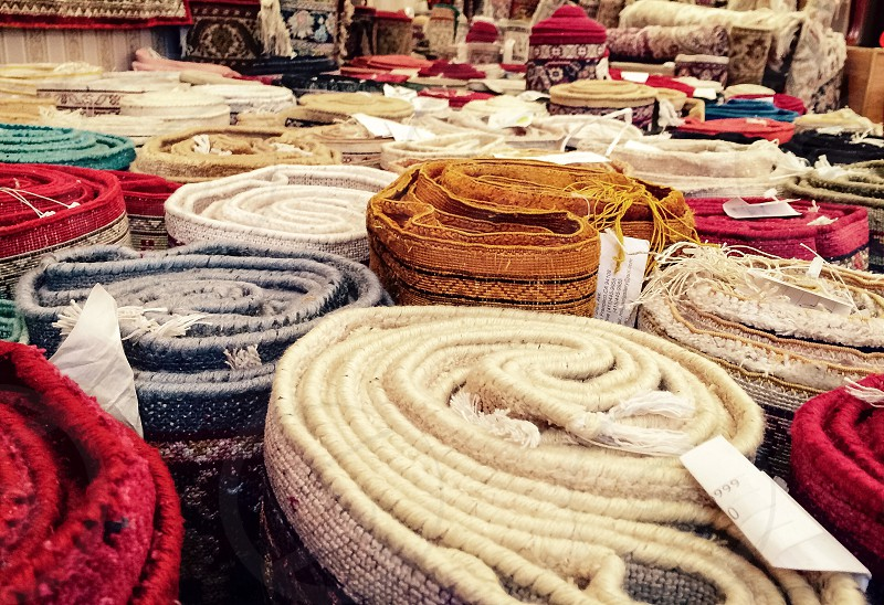 Hand made rugs photo