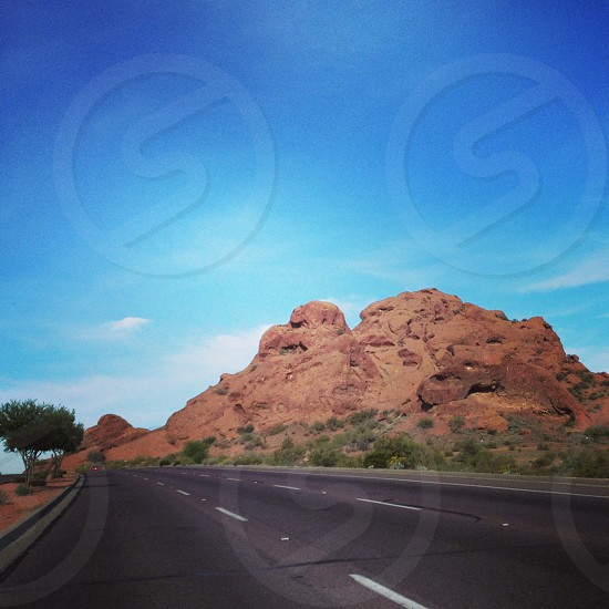 Arizona red rocks  photo