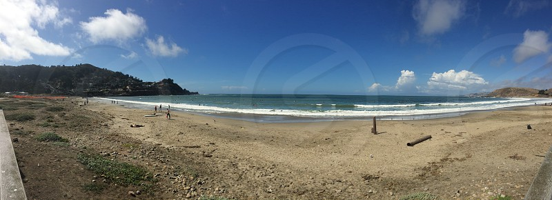 Montara beach panorama #landscape #beach photo