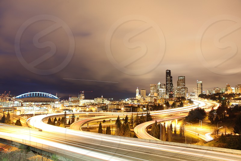 I took this long exposure of Seattle a few nights ago! photo