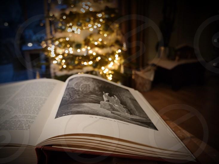Bible angel tree photo