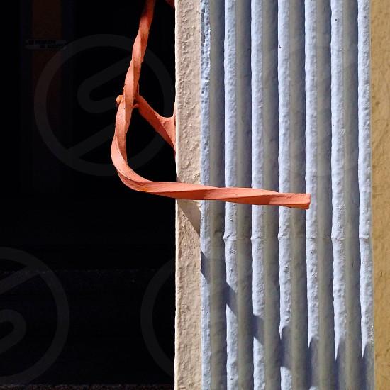twisted orange railing photo