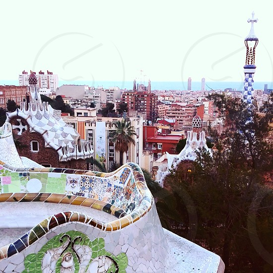 #barcelona #spain #parkguell #gaudi #travel photo