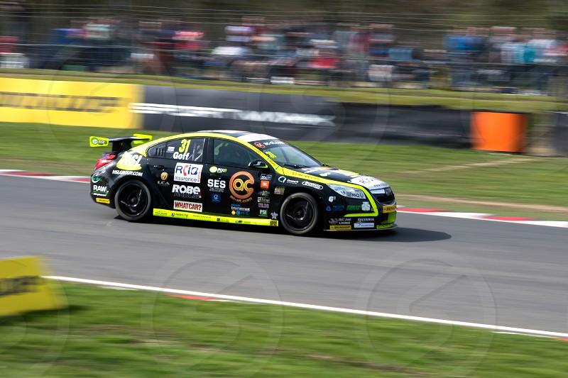 British Touring Car Championship Race March 2014 photo