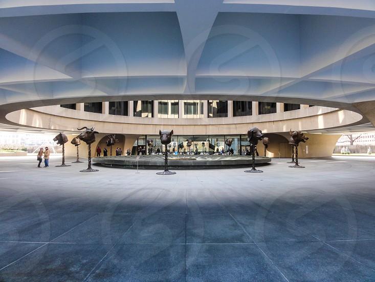 Hirshhorn Museum and Sculpture Garden Washington DC USA photo