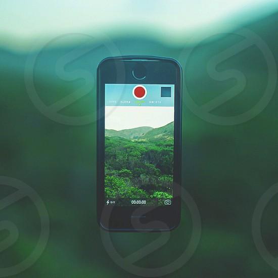 IPhone 5s. Float.  photo