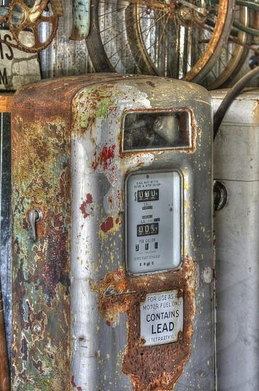Old Gas Pump photo