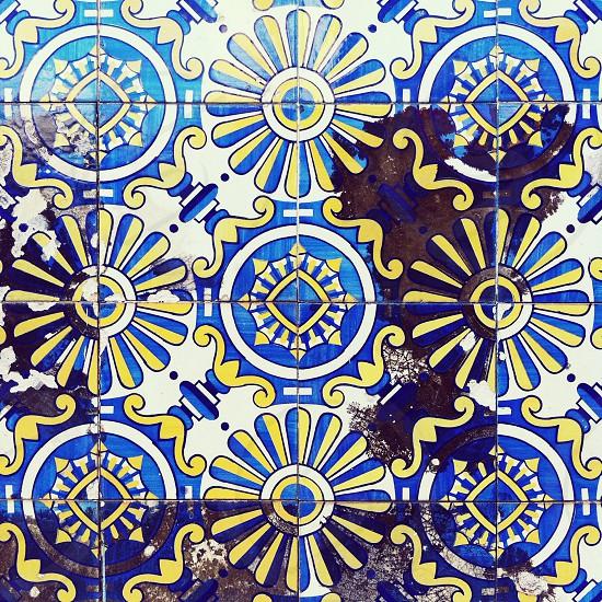 tiles patterns art photo