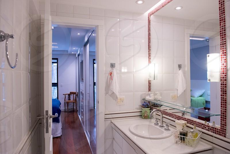 Cool bathroom modern bathroom.    photo