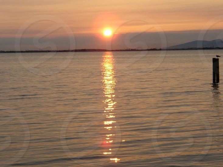 Sunset - White Rock BC Canada  photo