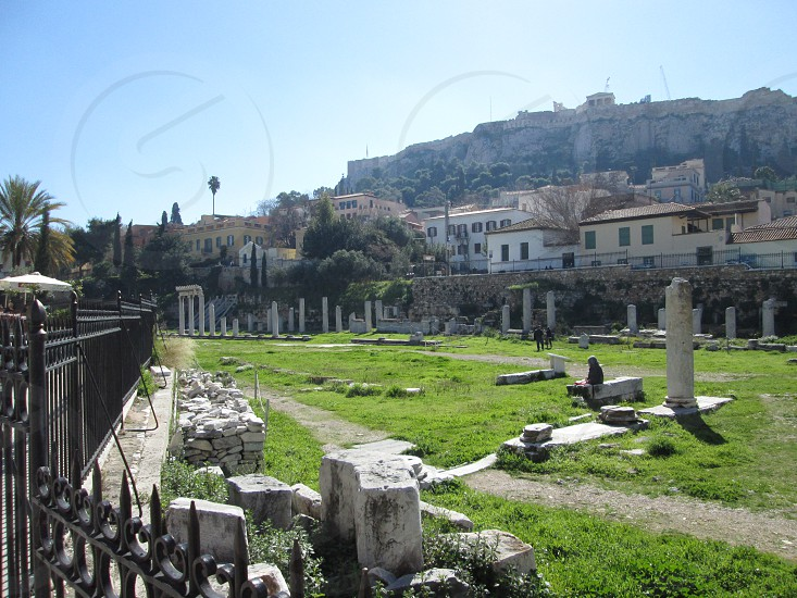 Ruins at Athens photo