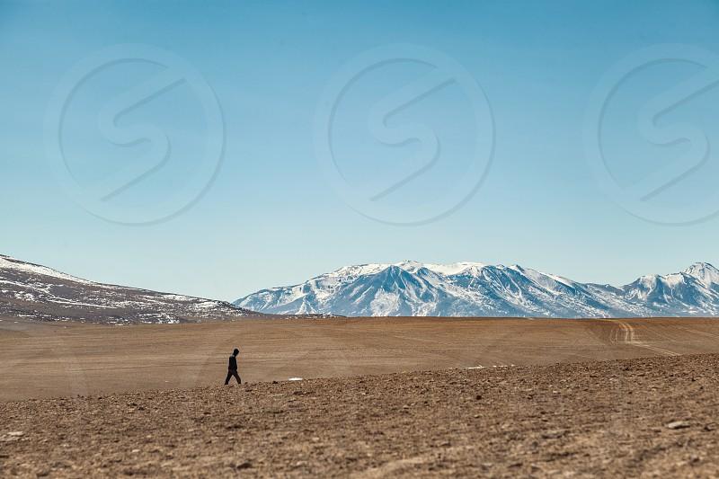 Lost in the Bolivian landscape photo